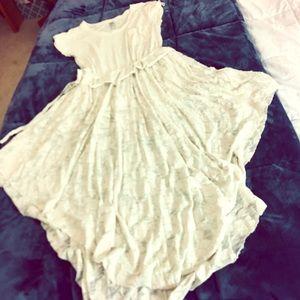 FP Beach Dress, White, Size M, NWOT!!